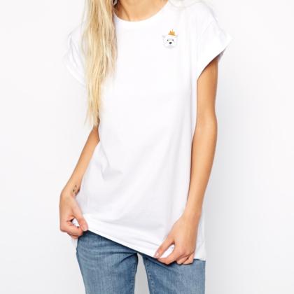 Dámské tričko s Westíkem – Princezna