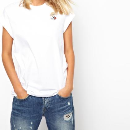 Dámské tričko s Westíkem – Romantik